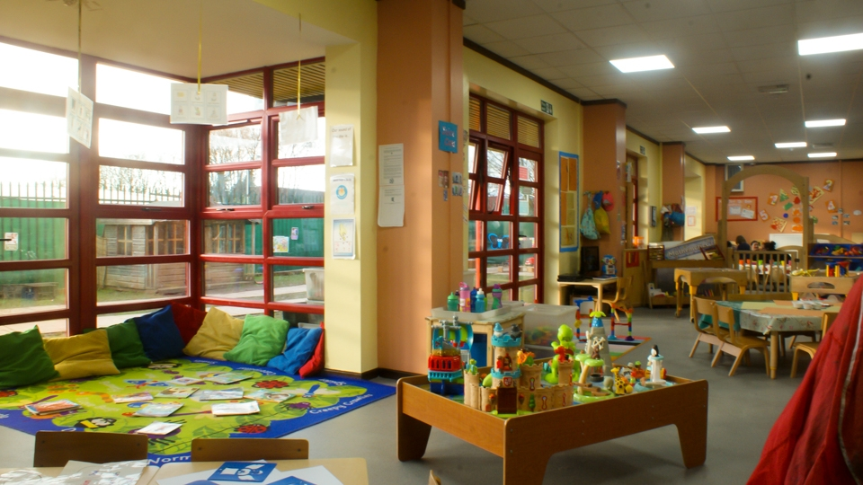 Reading and construction area
