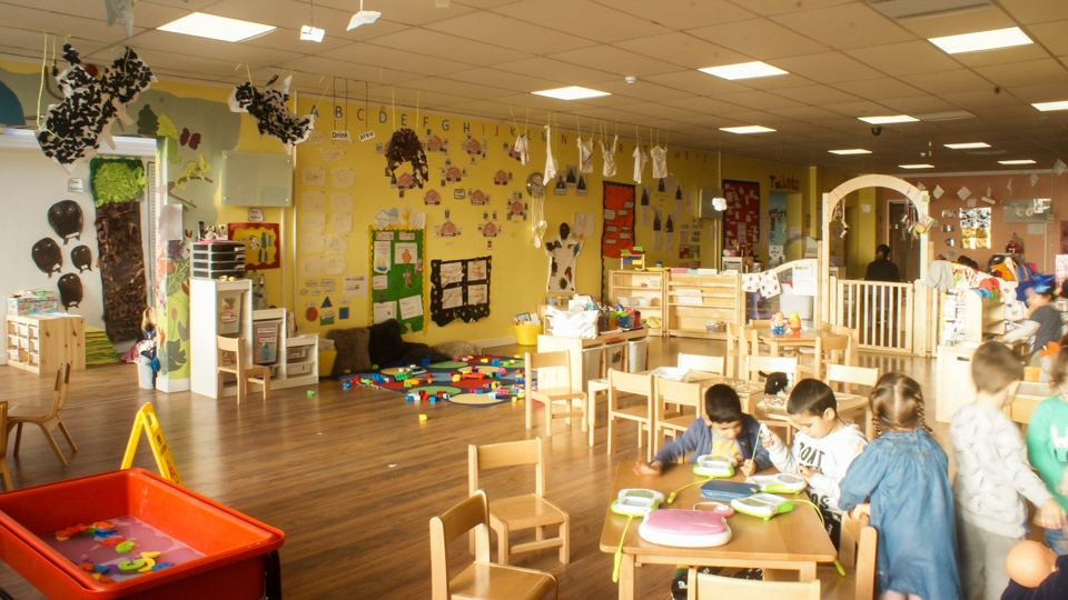 Little Walkers Nursery Creative Area